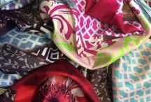AW15 Bazaar Collection / Printed silk scarves