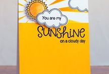 Sunny Sentiments / Cards & project ideas featuring Sunny Sentiments stamps & dies by Sunny Studio.
