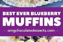 Muffins / 2 cups flour 3/4 cup sugar 2tsp baking powder 1/2 baking soda 1 egg 1/2 cup oil 1 cup orange juice  2 tsp orange rind 1  1/2 berries bake 400 20 min