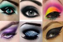Make Up! / Maquiagens lindas cores leves, em 3D e para fantasia!