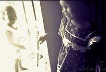 Uganda africa black white photography
