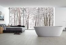 Bathroom Design Ideas / Ceramics to turn your bathroom into a living area