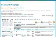 Custom Icons - Examples / Using custom graphics for icons in calendars is one of many ways Trumba calendars can be designed to match an organization's brand and style preferences