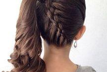 Flower Girl Hair and Dresses