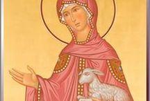 Agnese martire / Icone di Santa Agnese