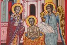 Agostino  di Ippona ,dottore / Icone di Sant'Agostino