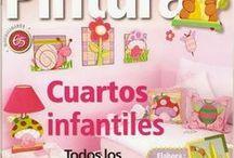 Revista- Decoración cuartos infantiles