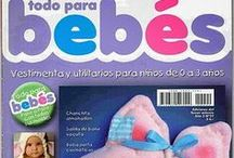 Revistas - bebes manualidades