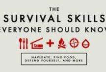 Survivor Guy DIY / TIP'S, ADVICE, INFOGRAPHIC'S, INFORMATIVE, SMART, FOR YOUR SURVIVAL AND KNOWING. / by Dave Beaudry