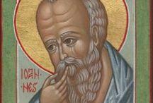 San Giovanni evangelista / icone di San Giovanni  Apostolo,Evangelista,Teologo