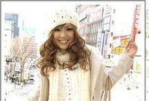 """Japan Gals или Симпатичные японские девочки / Название стиля произошло от бренда джинсов """"Gals"""", популярного в 70-х и рассчитанного на модных молодых женщин и девушек-подростков."""