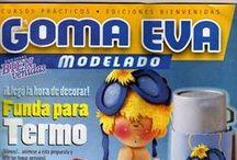 Revistas de Goma Eva gratis