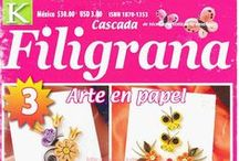 Revista - Filigrana - Papel y tarjetas