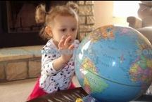 Geography and History for Kids. Geography Preschool Activities.