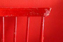 Rood / kleurinspiratie: alles rood