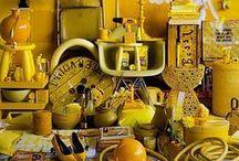 Geel / kleurinspiratie: alles geel