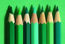 Groen / kleurinspiratie: alles groen