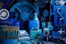 Blauw / kleurinspiratie: alles blauw