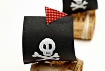 Ocean and Pirates Fun for Kids / Preschool Fun Activities: Ocean, Dolphins and sea animals, Pirates, Play at the beach.