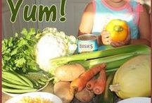 Cooking with Kids. Fruits and Vegetables.