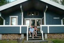 Stuga Blå Pärla & omgeving / Vakantiehuis in Zweden