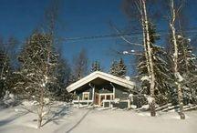winter bij Stuga Blå Pärla / Winter foto's rondom Stuga Blå Pärla en de provincie Dalarna