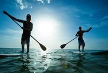 Paddle SUPing in Paradise