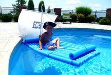 Water Games and Activities for Kids / Summer water play for preschool and kindergarten, water art, outside water games for summer, water activities.