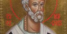 S.Gregorio magno ,papa / icone di San Gregorio