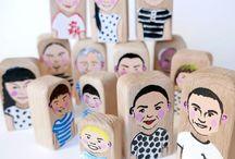 Bajkajlaj arttoys / Handmade toys from Europe