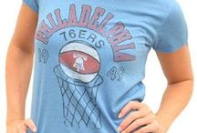 Women's Vintage Style NBA T-Shirts