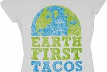 EcoFriendly Tees and Ideas / Shirts with an environment friendly message or idea, and tees made from recycled materials