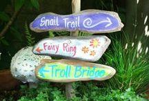 fairy gardens, fairy home
