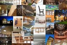 Wooden Wonders / Beautiful pieces of architecture which we love on Pinterest.