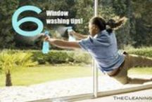Window Cleaning / Window cleaning tips, products, and DIY window cleaning recipes