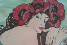 My paintings / Crafting your heart out, makes room for your soul