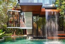 Inspiring Pools + Landscapes / Projects to inspire your designs.