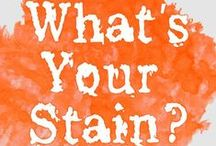 Stain & Spot Removal / Removing spots and stains from laundry, carpets, upholstery, pins from around the web