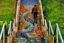 Follow the Yellow Brick Road / a creative path