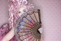 Boudoir Burlesque / Pompadour pin-ups: a collection of corsets and petticoats fit for a princess