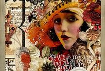 Great Gatsby Altered Art Inspiration