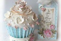 Cupcake Cards & Scrapbooking Inspiration