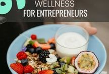 • Wellness for Entrepreneurs • / If we aren't healthy, our businesses won't thrive. Wellness tips and Inso for business builders and entrepreneurs. We love sustainable business.
