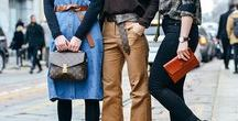 Belted Street Style / Our favorite belted looks spotted on the street.