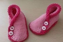 Crochet: Slippers/pantofoline - shoes/scarpine