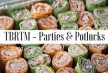 TBRTM - Party & Potluck Recipes / If you are looking to please a crowd at your next party, here are some quick and easy party food ideas and recipes