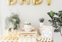 Baby Showers | EVENTS / The cutest and most beautiful baby shower ideas out there! Baby shower inspiration, baby shower party, baby shower games, baby shower modern ideas, bright baby shower ideas, how to plan a baby shower, baby girl baby shower, baby boy baby shower, gender reveal party ideas, gender reveal shower inspiration, cute baby shower decor, diy baby shower, baby shower games, diy baby shower games, easy baby shower decor, DIY baby shower decorations, how to throw a baby shower, tips for planning a shower