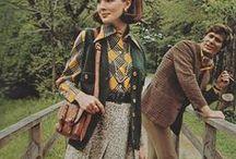 // autumn '15 // / 1970s, marsala, prep, cosy, plaid, layers