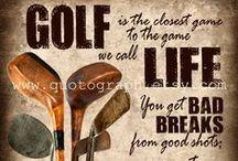 Golf / My holiday game... love it...enjoy it.