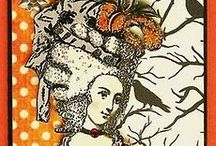 Halloween  & Gothic Marie Antoinette